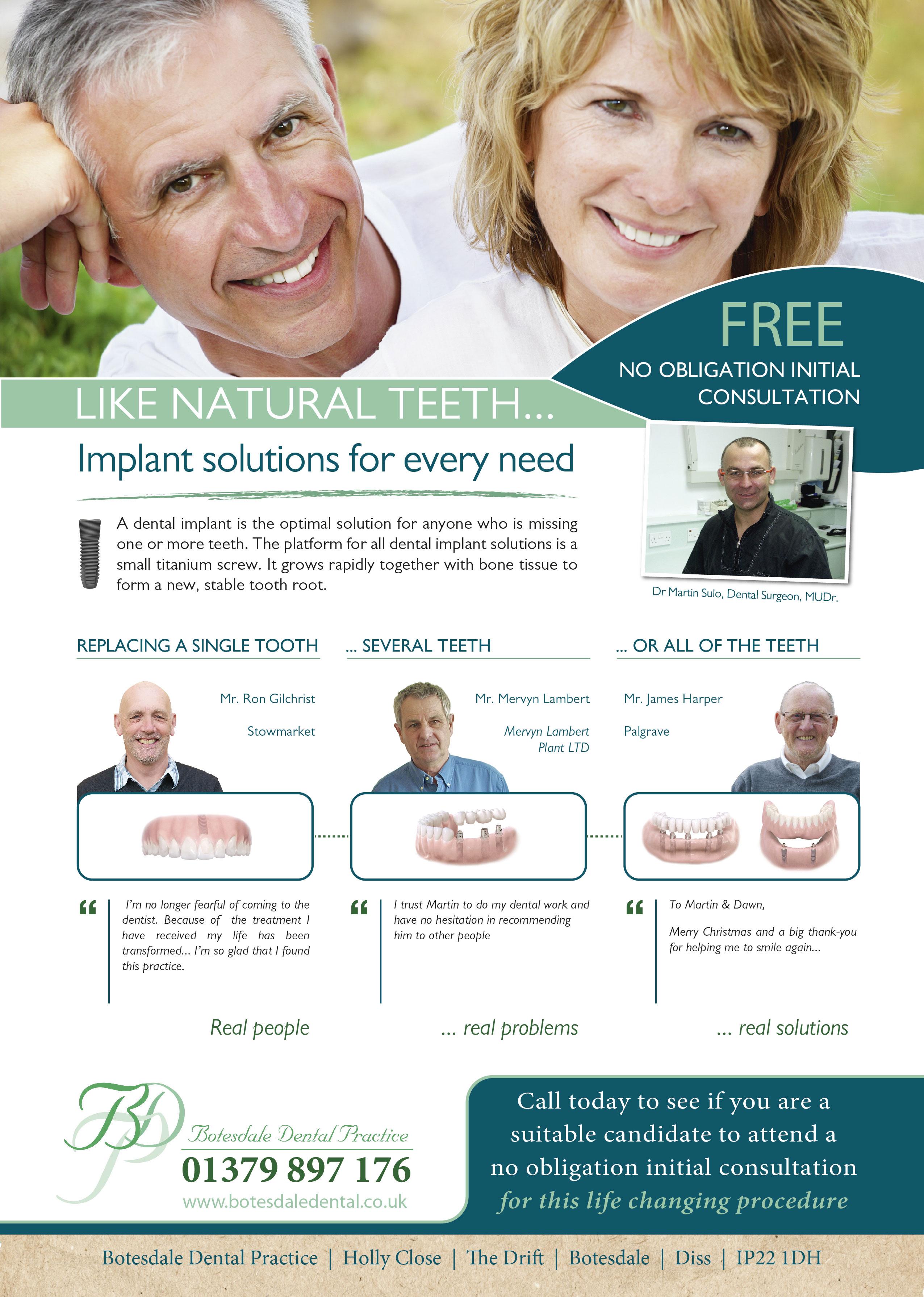 Botesdale Dental Practice Testimonials